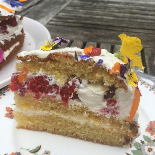Beautiful cake decoration