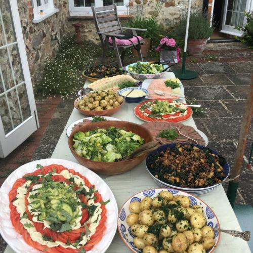 Catering spread service